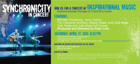 SYNCHRONICITY In Concert